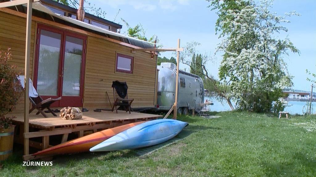 Run auf Campingplätze am Wasser zeichnet sich ab