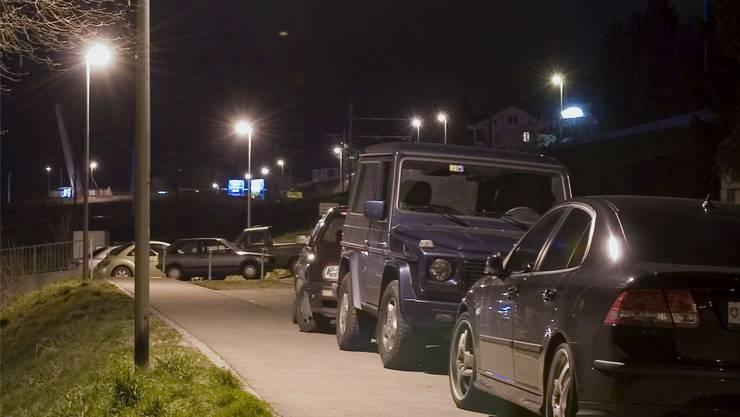 Die Kosten für Laternenparking variieren im Aargau sehr stark.