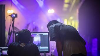 Live-Übertragungen aus dem Jugendkulturhaus Flösserplatz während der Corona-Pandemie