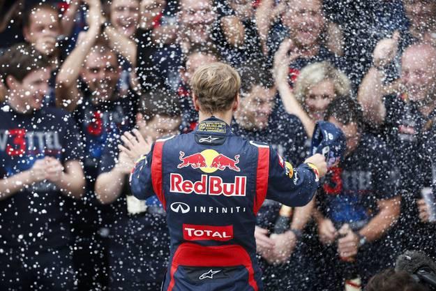 Vettel feiert seinen dritten WM-Titel