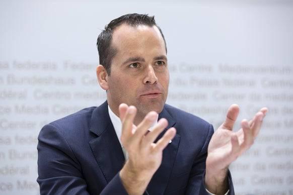 FDP-Ständerat Damian Müller. (Bild: Keystone)
