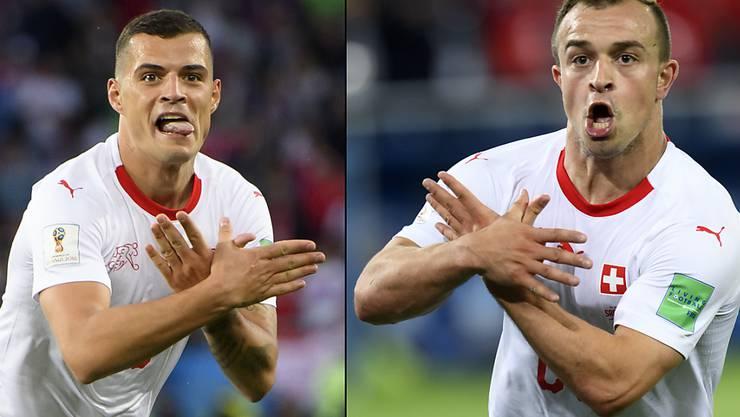 Die Fifa Leitet Verfahren Gegen Xhaka Und Shaqiri Ein Sfv