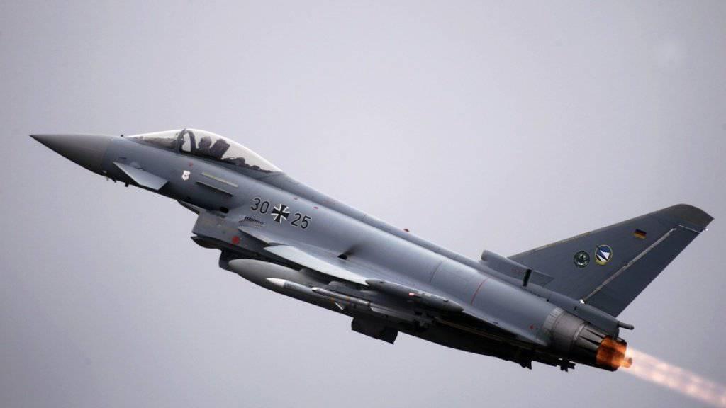 Der Eurofighter ist einer der Jets, die in der Schweiz zur Auswahl stehen. (Archivbild)