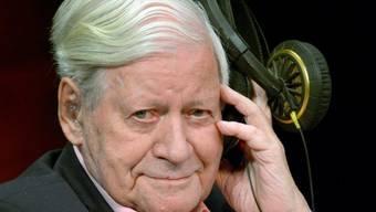 Helmut Schmidt (Archiv Sept. 2013)