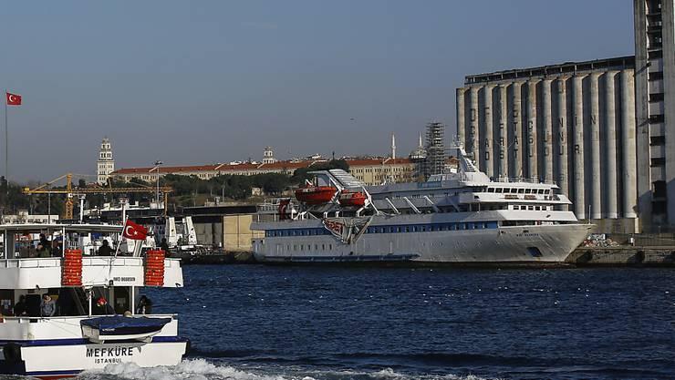 Tödliche Solidarität für Gaza: Bei der Erstürmung des Schiffs Mavi Marmara starben zehn türkische Aktivisten. (Archivbild)