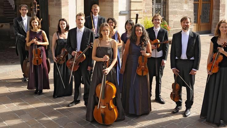 Das Barockorchester Capriccio aus Rheinfelden.