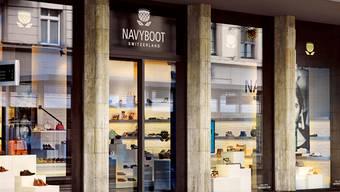 Gehört künftig zur Migros: Das Schuh-Label Navyboot.