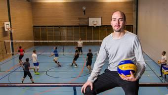 Spieler, Trainer und Clubpräsident – Thomas Heynen engagiert sich an verschiedensten Fronten für den VBC Kanti Baden.
