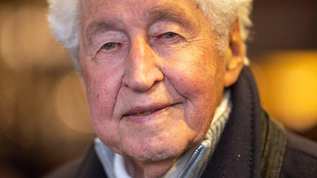 ARCHIV - Gotthilf Fischer, Komponist und Chorleiter, am verstarb vergangene Woche im Alter von 92 Jahren. Foto: Sebastian Gollnow/dpa