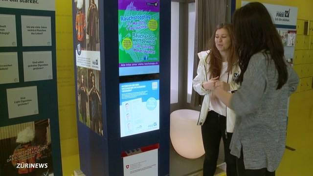 Anti-Raucher-Fotoautomat