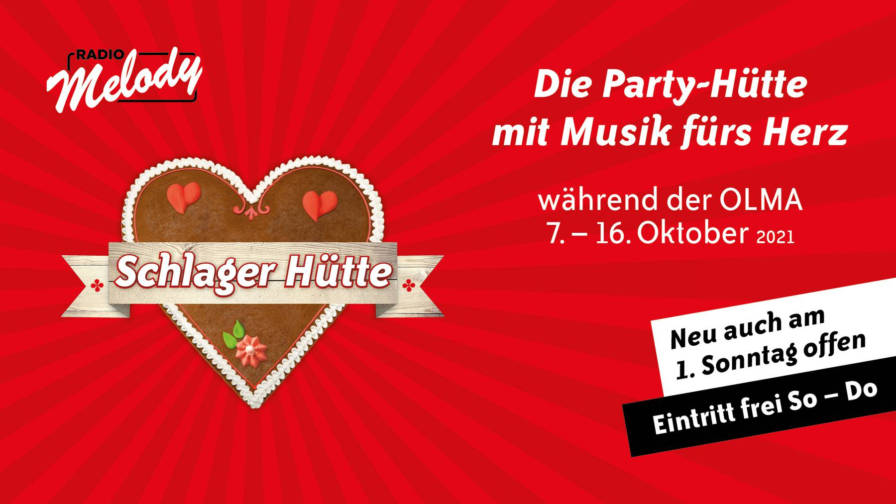 Radio Melody Schlager Hütte