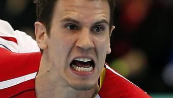 Andy Schmid traf zum 28:28-Endstand gegen Deutschland
