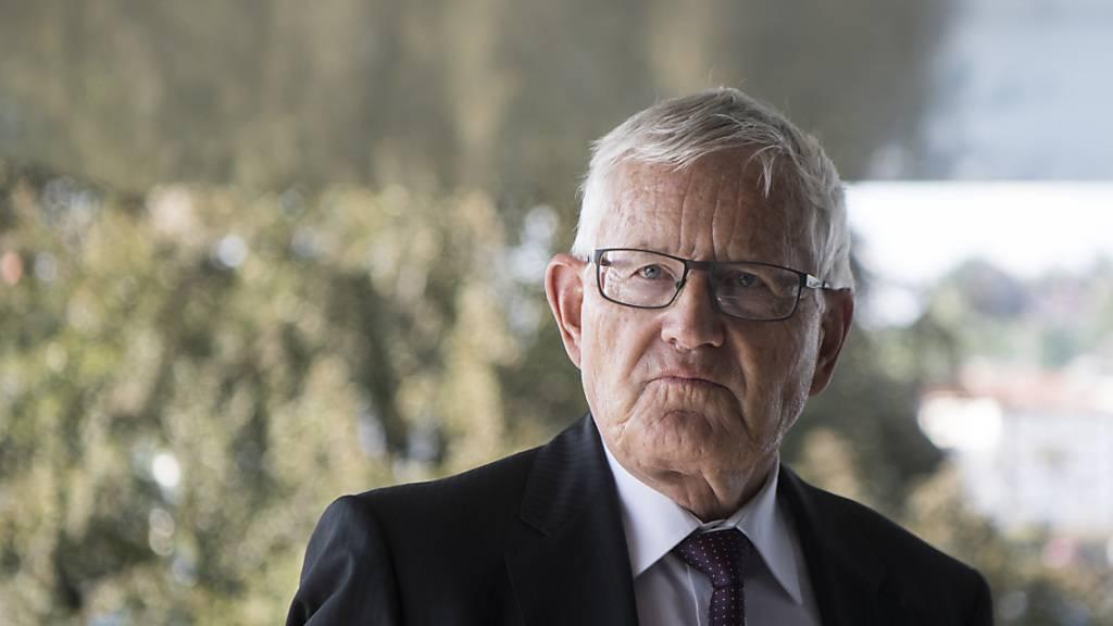 Alt Bundesrat Villiger wehrt sich gegen Vorwurf der Mitwisserschaft