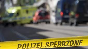 In Basel wurde ein Mann niedergeschossen und mittelschwer verletzt (Symbolbild)
