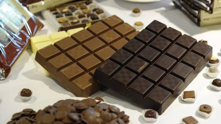 Zu den Leibspeisen gehört wenig überraschend Schokolade.