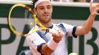 Marco Cecchinato kassierte in diesem Jahr in Paris eine bittere und unerwartete Erstrunden-Niederlage