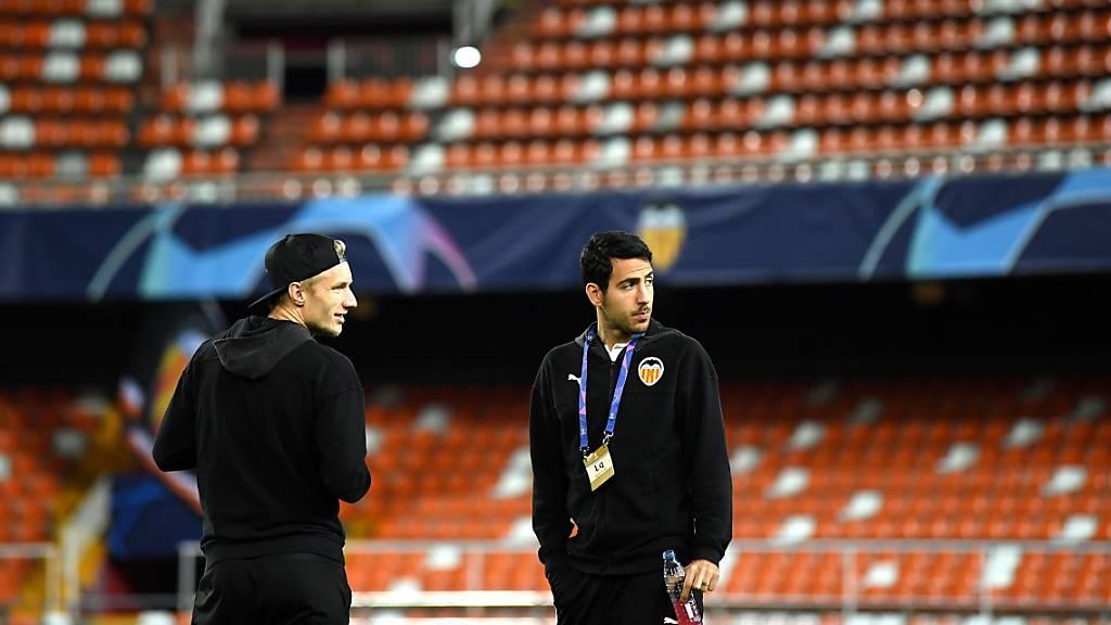 Beim FC Valencia, dem letzten Champions-League-Gegner von Atalanta Bergamo, haben sich fünf Spieler angesteckt