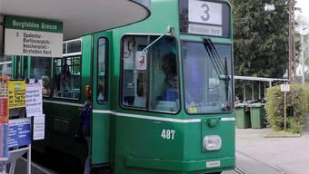 Die Gesamtkosten für diese Tramverlängerung samt Park+Ride-Anlage an der künftigen Endhaltestelle werden auf rund 98 Millionen Franken beziffert. (Archivbild)