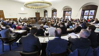 Bei der Beratung von Staatsrechnung und Finanzplan schwang auch die bald schon wieder anstehende Steuerdiskussion mit. (Archiv)