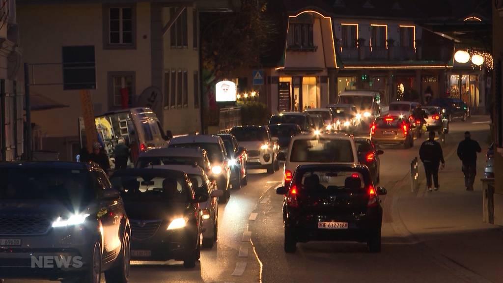 Über 2500 Unterschriften gegen Thuner Verkehrschaos