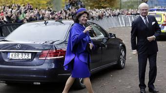 Königin Silvia geht es den Umständen entsprechend gut. Laut Königspalast war sie schon seit einiger Zeit erkältet und hatte dann am Freitagabend Schwindelanfälle. (Archivbild).