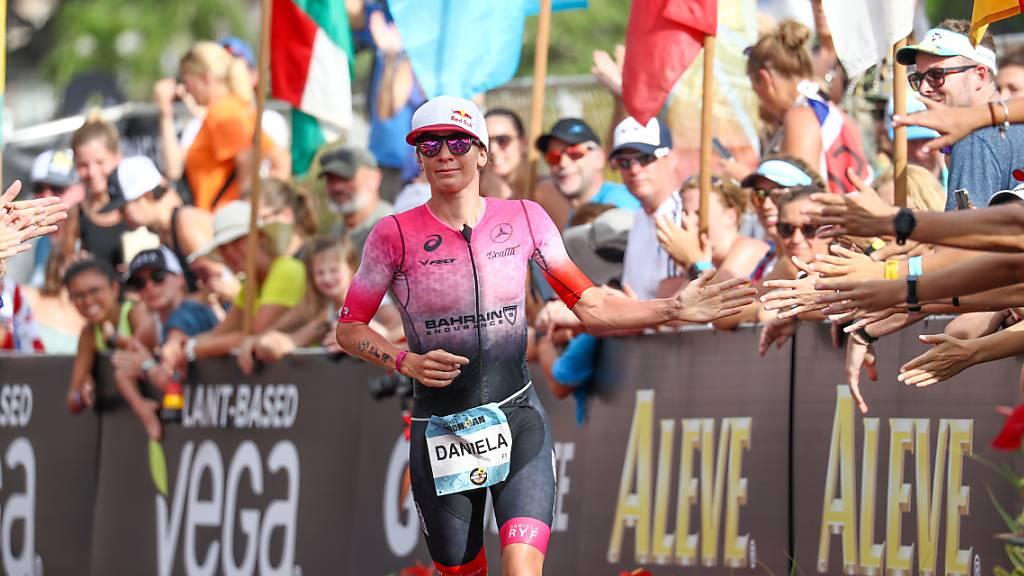 Unterstützung in schwierigen Zeiten: Die Profi-Triathleten (im Bild Daniela Ryf) erhalten von ihrem Verband einen vorgezogenen und vergrössxerten Geldsegen.