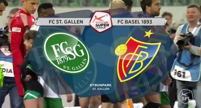 FC Basel gegen St. Gallen (03.04.17)