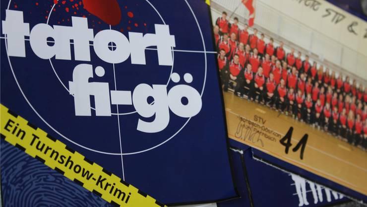 Die Turnshow in Fi-Gö wird in diesem Jahr nach dem Motto Tatort gestaltet.