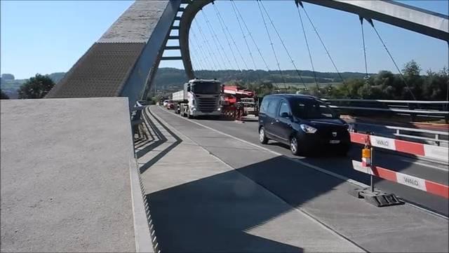 Sanierungsarbeiten an der Archbrücke