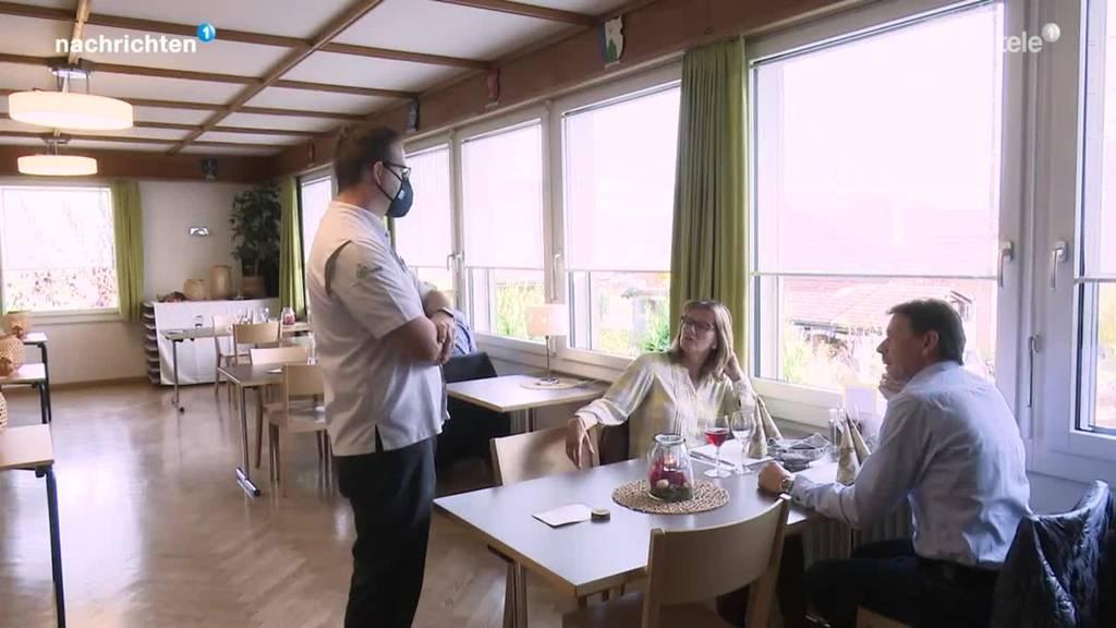 Restaurants spüren Massnahmen deutlich
