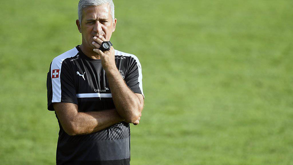 Nationalcoach Vladimir Petkovic darf sich auf ein volles Stadion freuen
