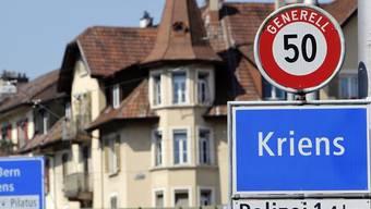 Die Krienser Stimmberechtigten sagten Nein zur Fusion