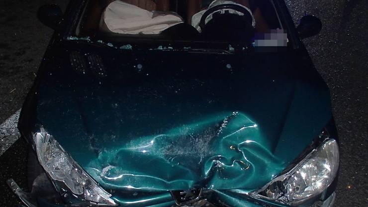 In diesem Wagen fuhr die Unfallverursacherin.