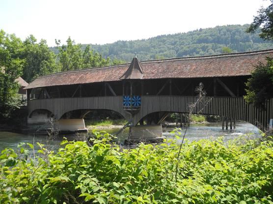 1845 liessen die Brüder Heinrich junior und Rudolf Bebié das Fahr über die Limmat in Turgi durch eine hölzerne Privatbrücke ersetzen