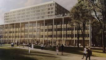 Kantonsspital Aarau Neubau