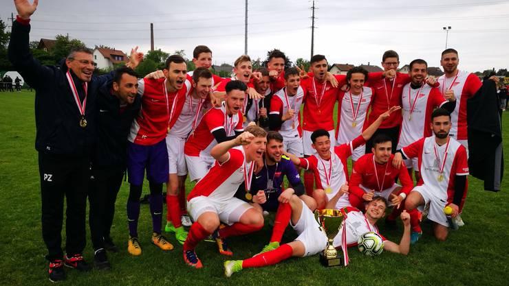Cupsieger 2018 bei den A-Junioren