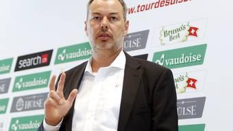 Investiert in die Zukunft des Radsports: Olivier Senn.