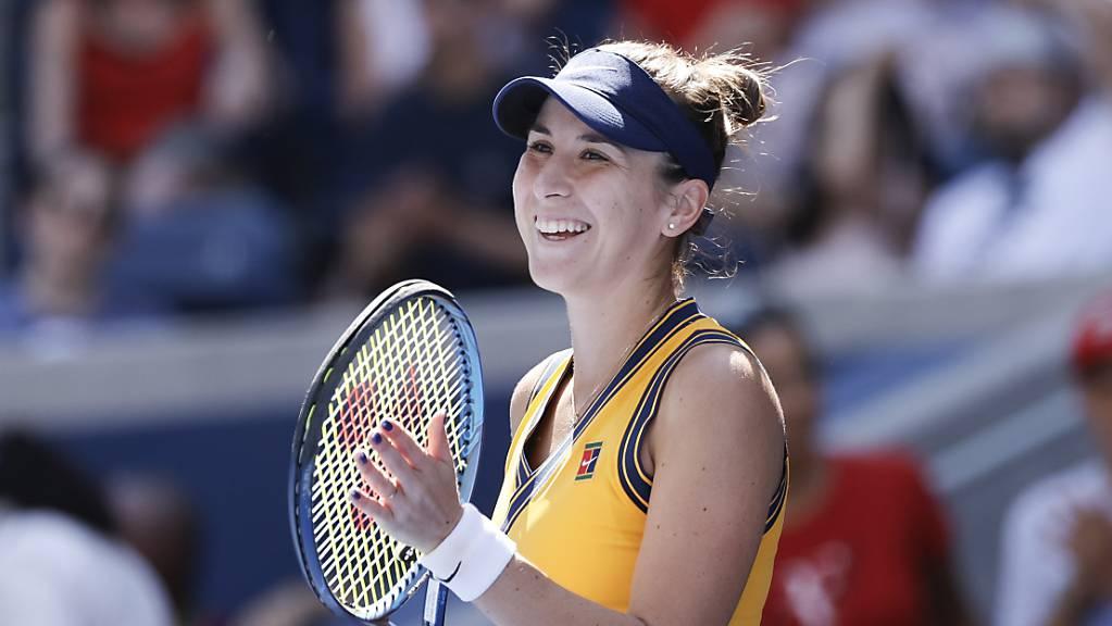 Belinda Bencic hat wie 8 der 11 am US Open übrig gebliebenen Konkurrentinnen noch keinen Grand-Slam-Titel gewonnen