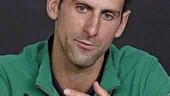 Australien-Open-Sieger Novak Djokovic peilt Federers Rekord an.