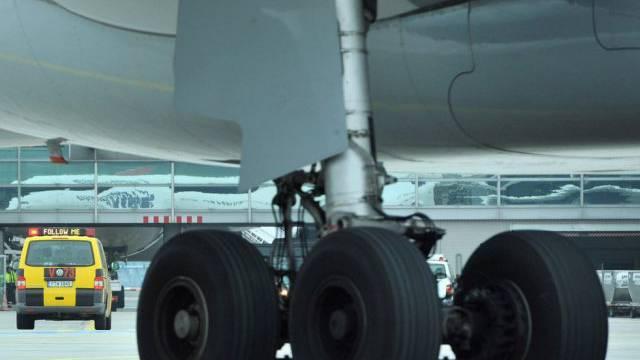 Streik an deutschen Flughäfen legte Verkehr lahm (Symbolbild)