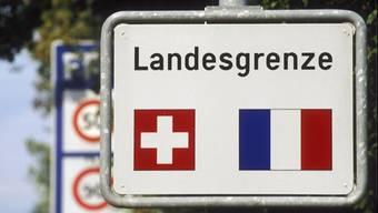 Mit 172'000 Personen stellt Frankreich mehr die Hälfte aller Grenzgänger in der Schweiz.