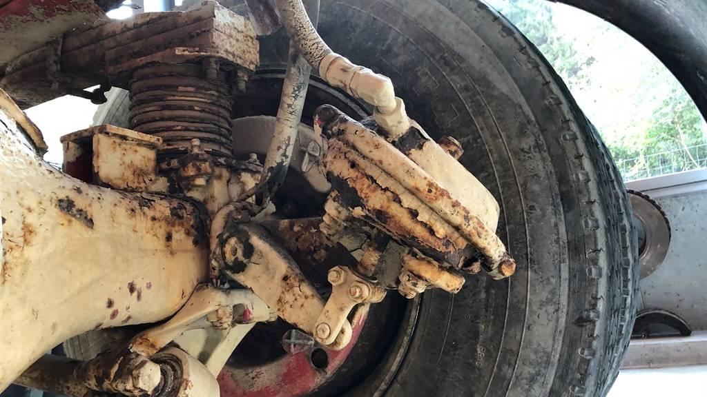 Drei von vier Bremsen funktionierten nicht