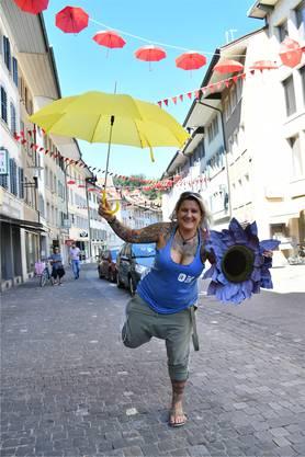 Noemi Zimmerli war im Stadtfest-OK für die Dekoration zuständig. Bild: jam