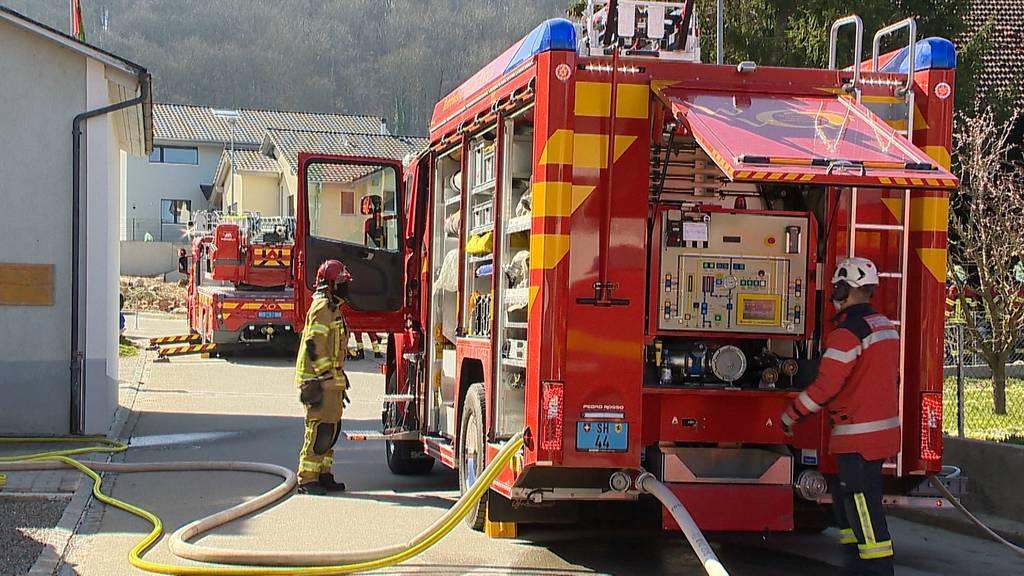 Gutmandingen (SH): Brand in Mehrfamilienhaus