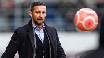 Cheftrainer Joe Zinnbauer vom FC St. Gallen.