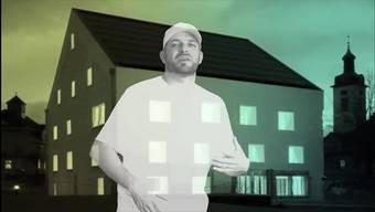 Claude Hasler aka «Tonki MC» mit seinem Rapsong über das Wohler Schlössli