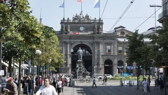 Ein Streit beim Zürcher Hauptbahnhof artet aus. (Symbolbild)