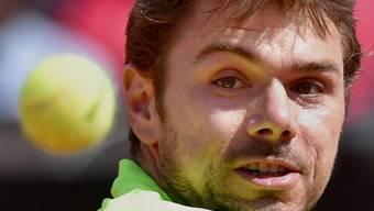 Stan Wawrinka bekundet gegen Juan Monaco Mühe mit dem Timing