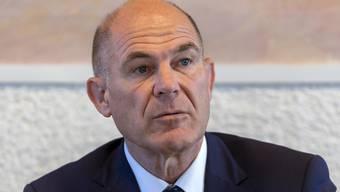 Der Baselbieter Finanzdirektor Anton Lauber (CVP) rechnet trotz Corona-Krise mit schwarzen Zahlen für die Jahre 2021 bis 2024.