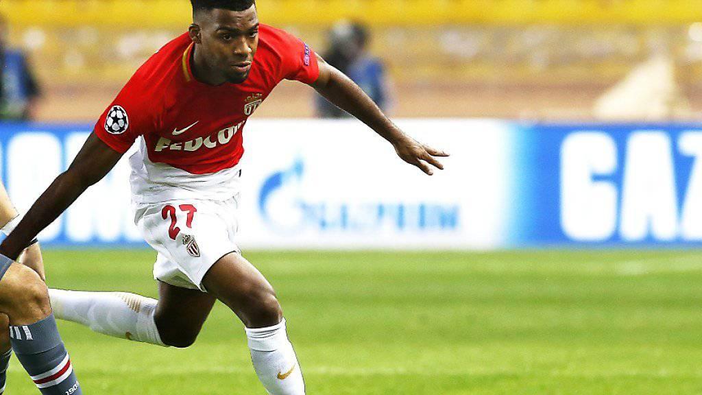 Erzielte beim 2:0 in Bordeaux das zweite Tor für Monaco: Thomas Lemar (Archivbild)